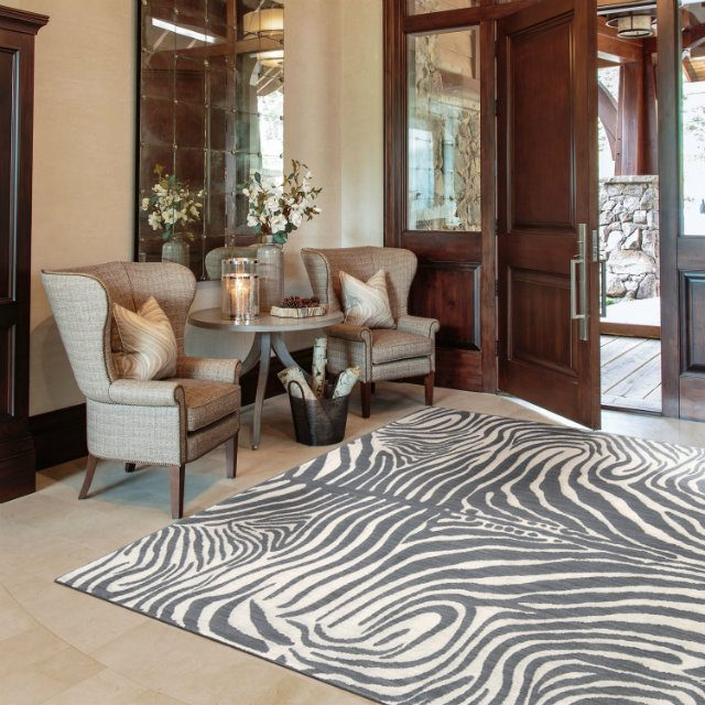 Real Leather Home Accesories - Top 10 Brands madagascar-rug-graphite