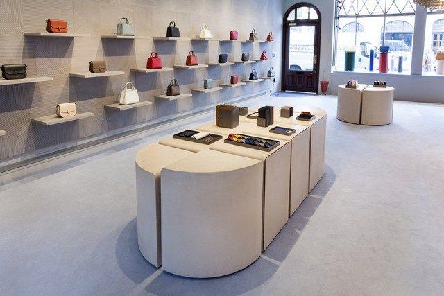 luxury interior design London Design Store Meet the new Valextra London Design Store 015 MG 8692 640x427