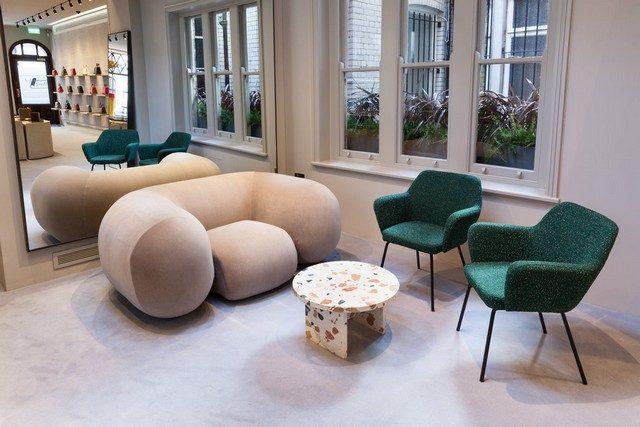 modern armchairs London Design Store Meet the new Valextra London Design Store 022 MG 8740 640x427