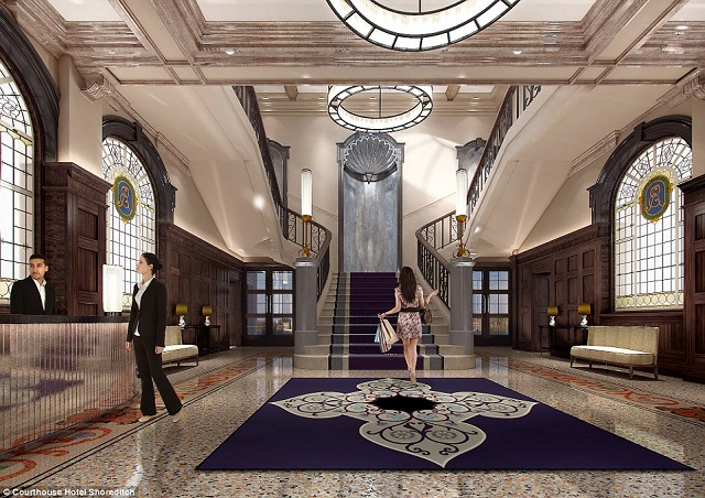 Best UK Hotels: Courthouse Shoreditch Hotel  Best UK Hotels: Courthouse Shoreditch Hotel 1 6