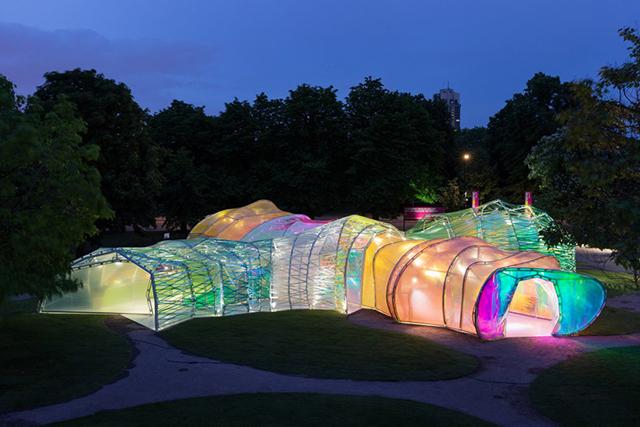 2015 Summer Pavilion at Serpentine Gallery