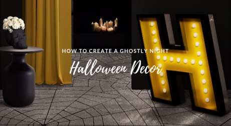 Halloween Home Decor Ideas for A Ghostly Evening FEAT