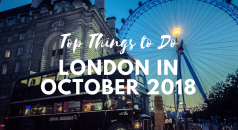 Top Things to Do in London in October 2018 FEAT