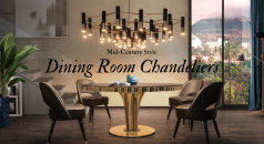 8 Mid-Century Chandeliers to Elevate Your Dining Room Design feat
