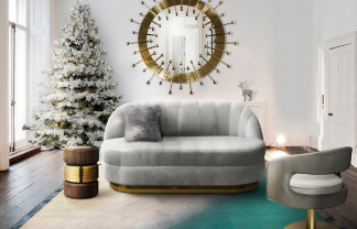 The mid-century modern furniture for your Christmas wonderland!