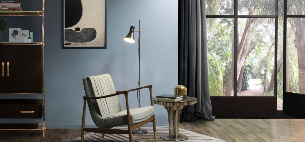 UK's Favorite Mid-Century Furniture Dressed Up in Next Year Color