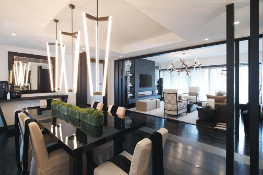 Exclusive Dining Room Designs by Kelly Hoppen