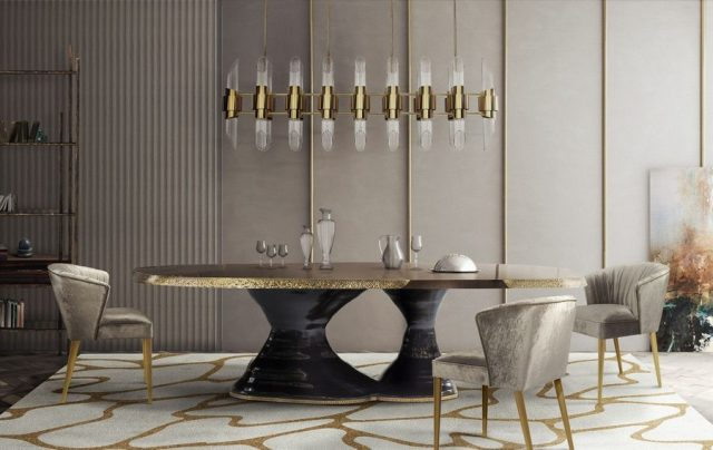 Luxurious Dining Tables For Luxurious Dining Rooms  Luxurious Dining Tables For Luxurious Dining Rooms 6 1 640x404