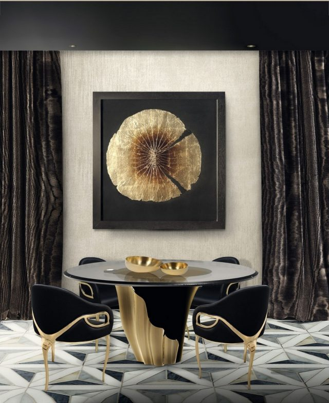 Luxurious Dining Tables For Luxurious Dining Rooms  Luxurious Dining Tables For Luxurious Dining Rooms 8 2 640x784