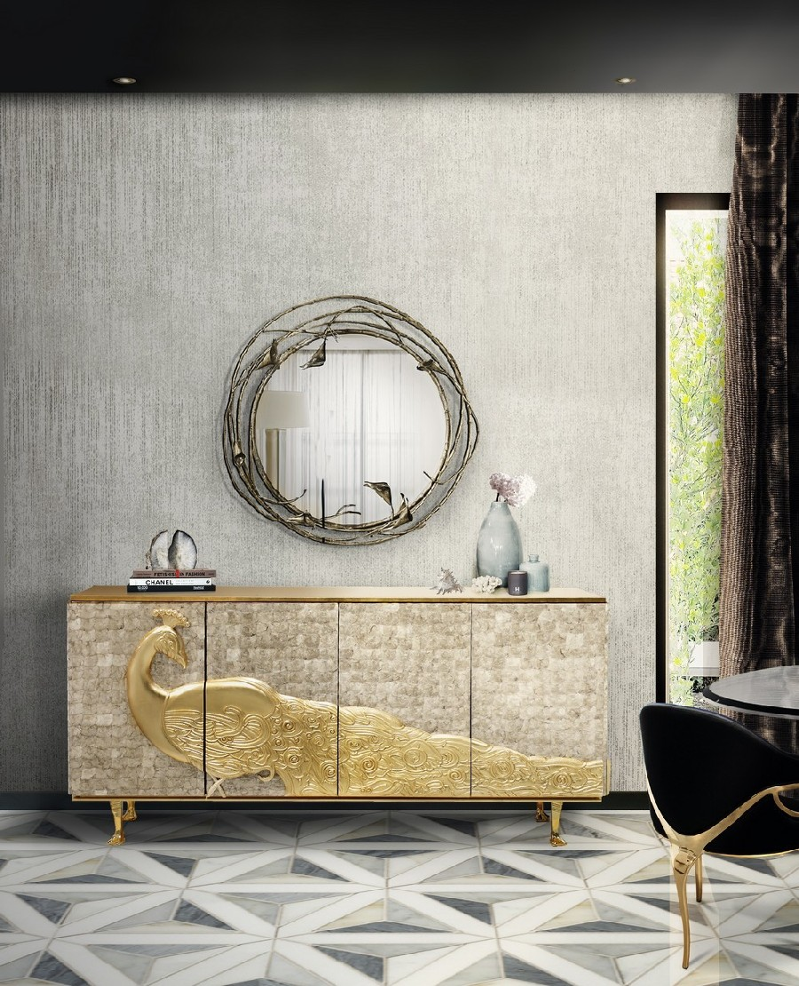 Mellow Color Metallics: The Sideboards mellow color metallics Mellow Color Metallics: The Sideboards 2 4