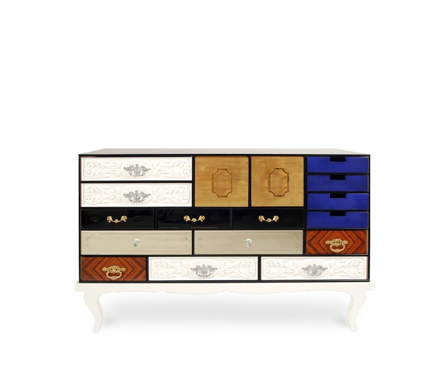 Abstract Art Geometric: The Sideboards  Abstract Art Geometric: The Sideboards 3 7