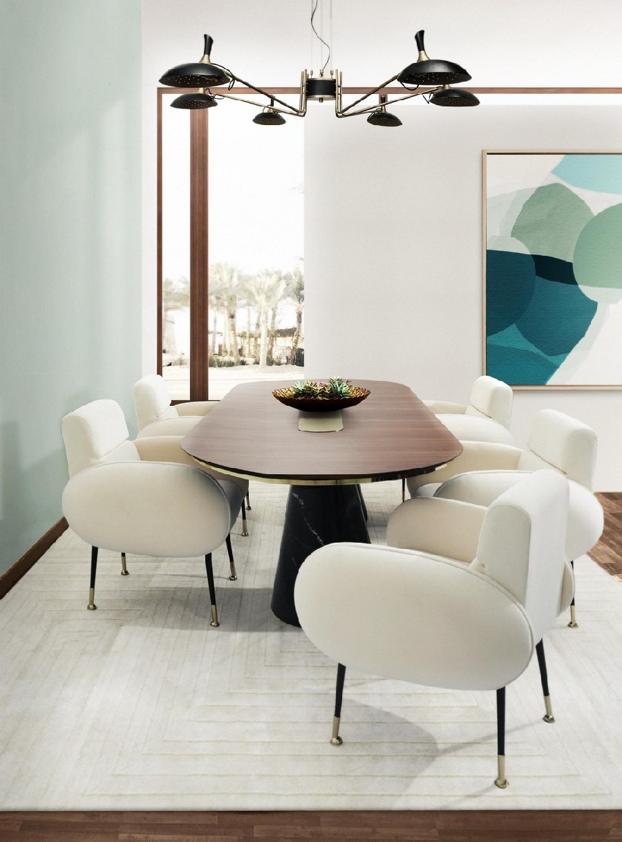 Retro Vibe Mid-century: The Dining Chairs