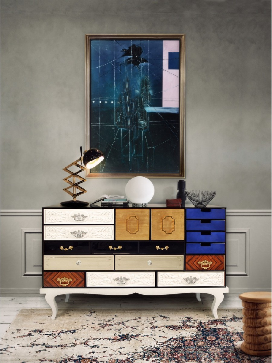Abstract Art Geometric: The Sideboards  Abstract Art Geometric: The Sideboards 4 6