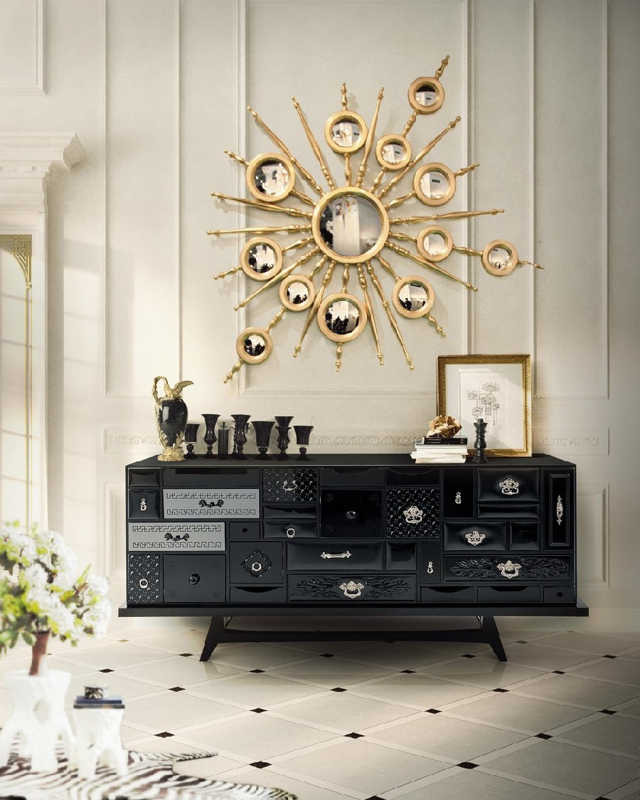 Abstract Art Geometric: The Sideboards  Abstract Art Geometric: The Sideboards 8 4